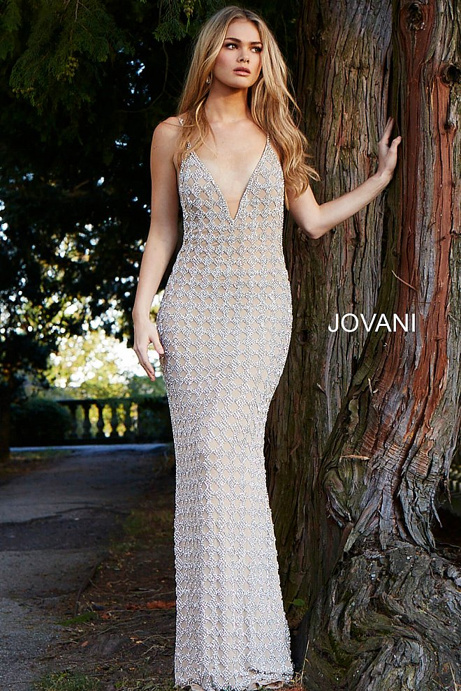 Prom Trend 2018: Nude Beaded Dresses