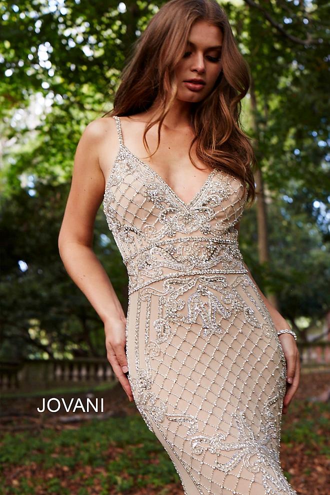 beaded prom dress 57612