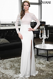 Jersey Long Sleeve Gown 21796