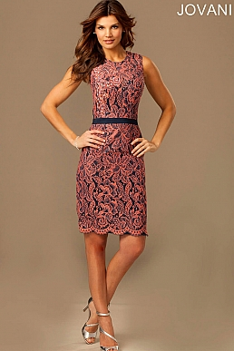Sleeveless Fitted Dress 89509