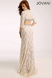 White Lace Pageant Dress 20990