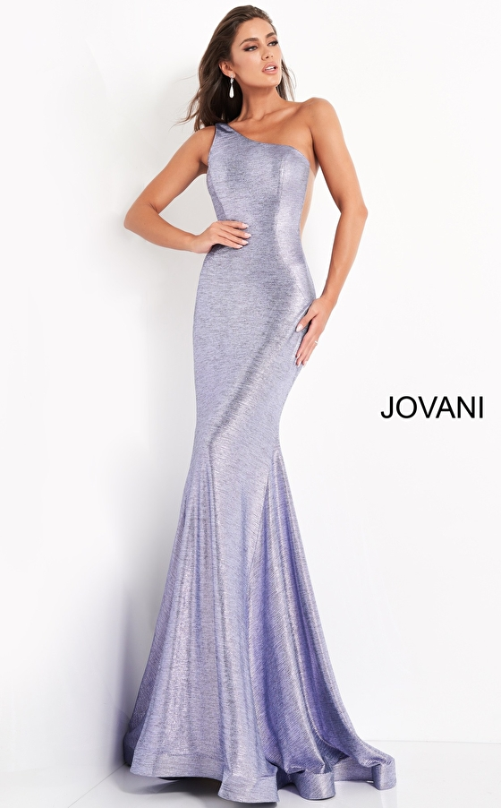 Jovani 06367 Iris One Shoulder Fitted Prom Dress