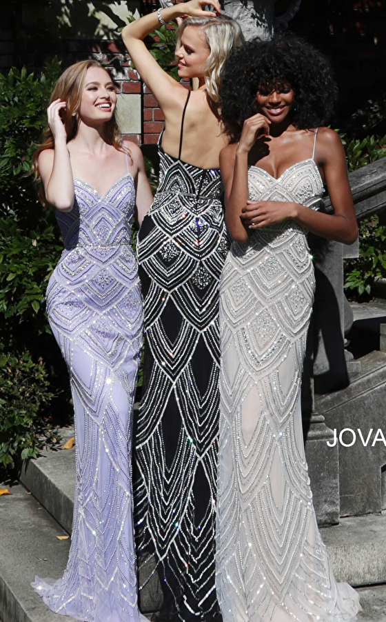 beaded prom gowns 60653