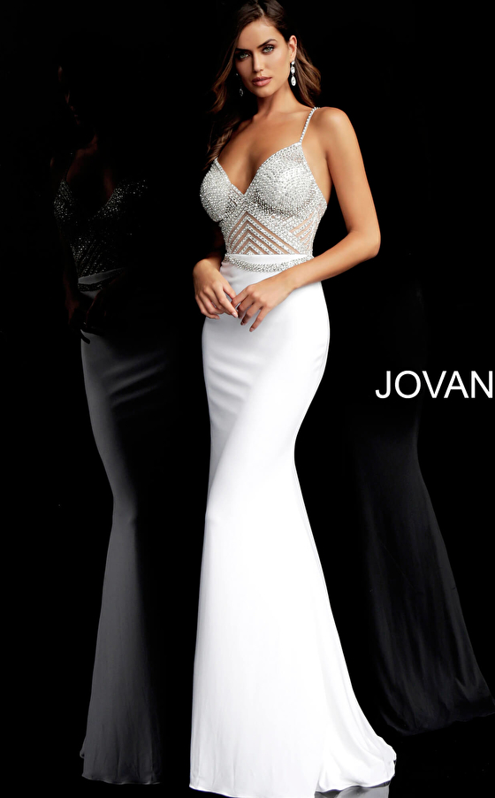 white fitted dress 63147