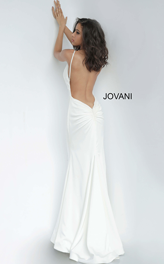 Jovani 67857 Backless Fitted Prom & Bridesmaid Dress