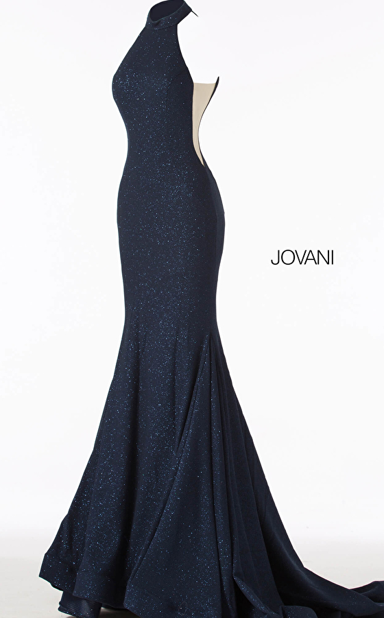 navy fitted dress 55185