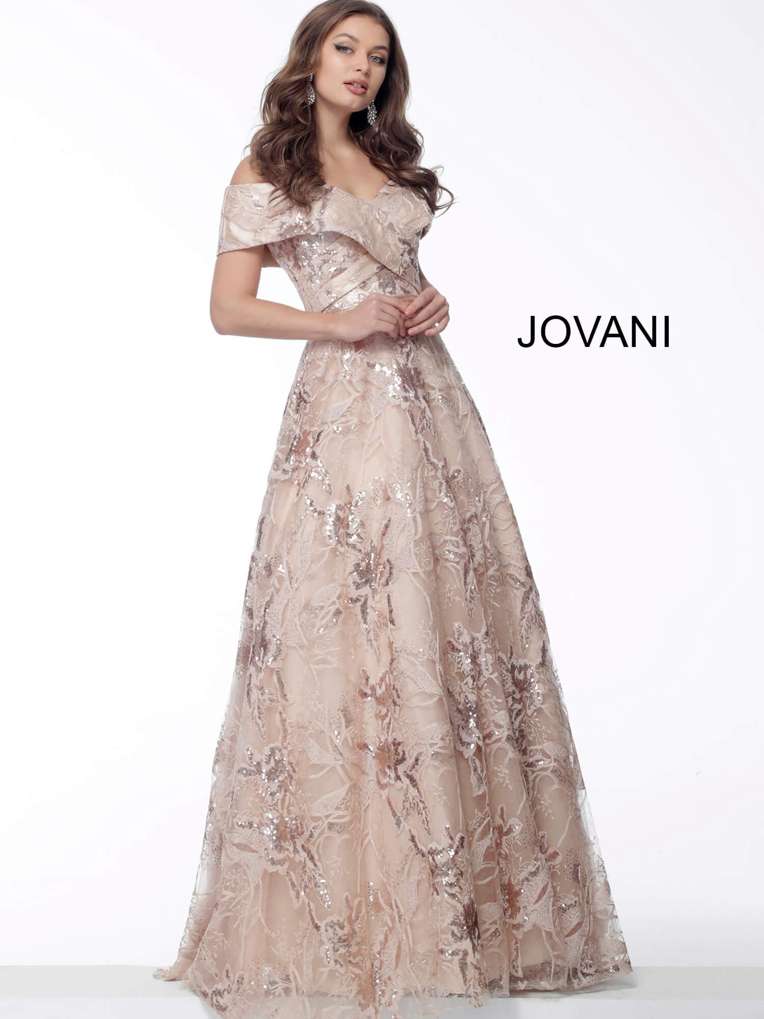 3733e414ce4b Jovani Embroidered Ball Gown - raveitsafe