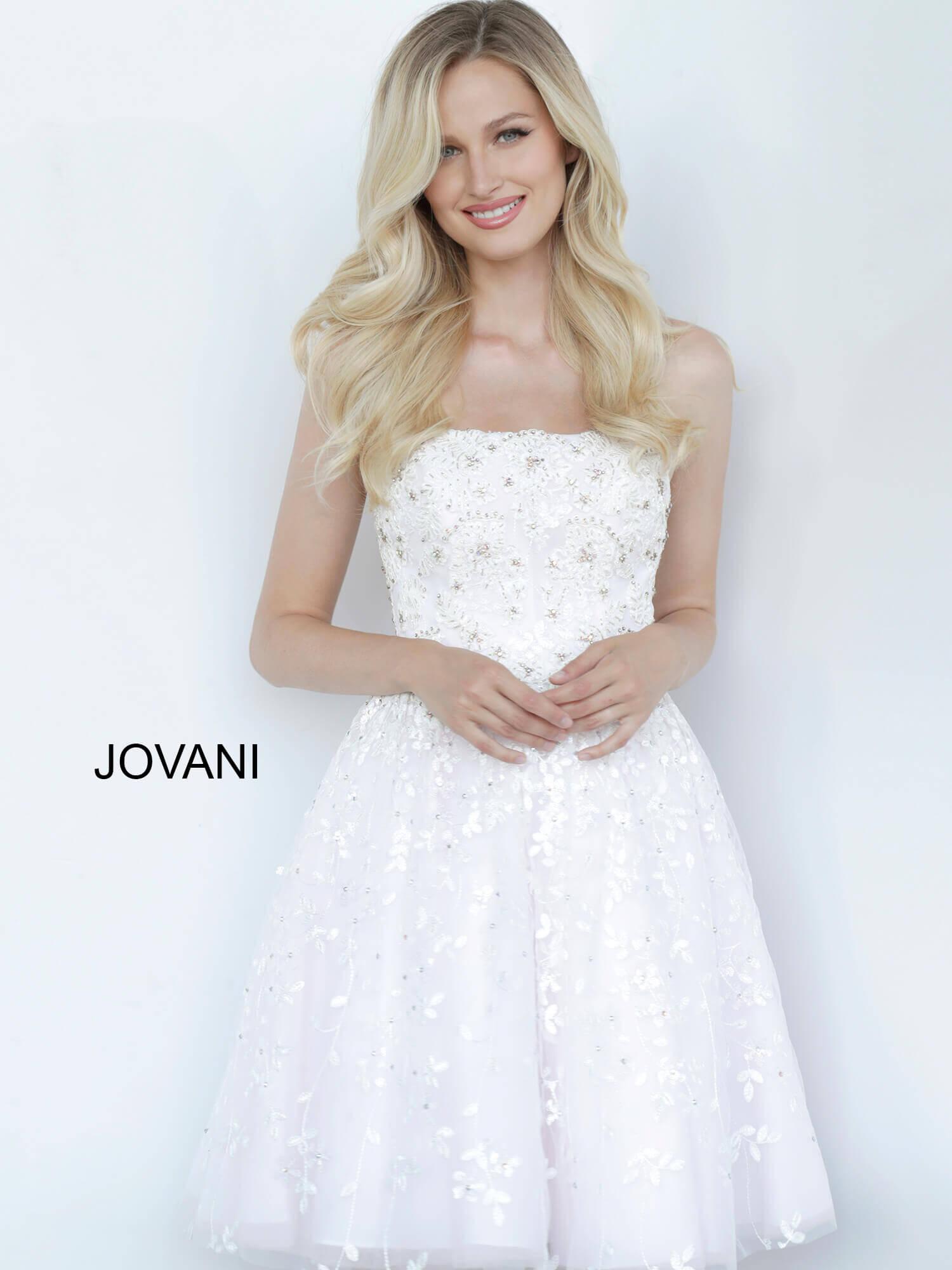 Jovani Short Wedding Dresses