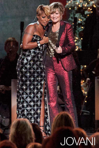 Mary J Blige in Jovani 79121