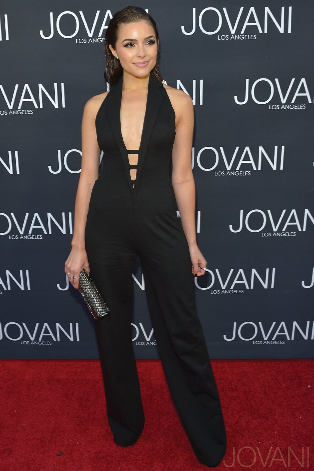 Olivia Culpo at the Jovani LA store opening in 40470 on mobile 0