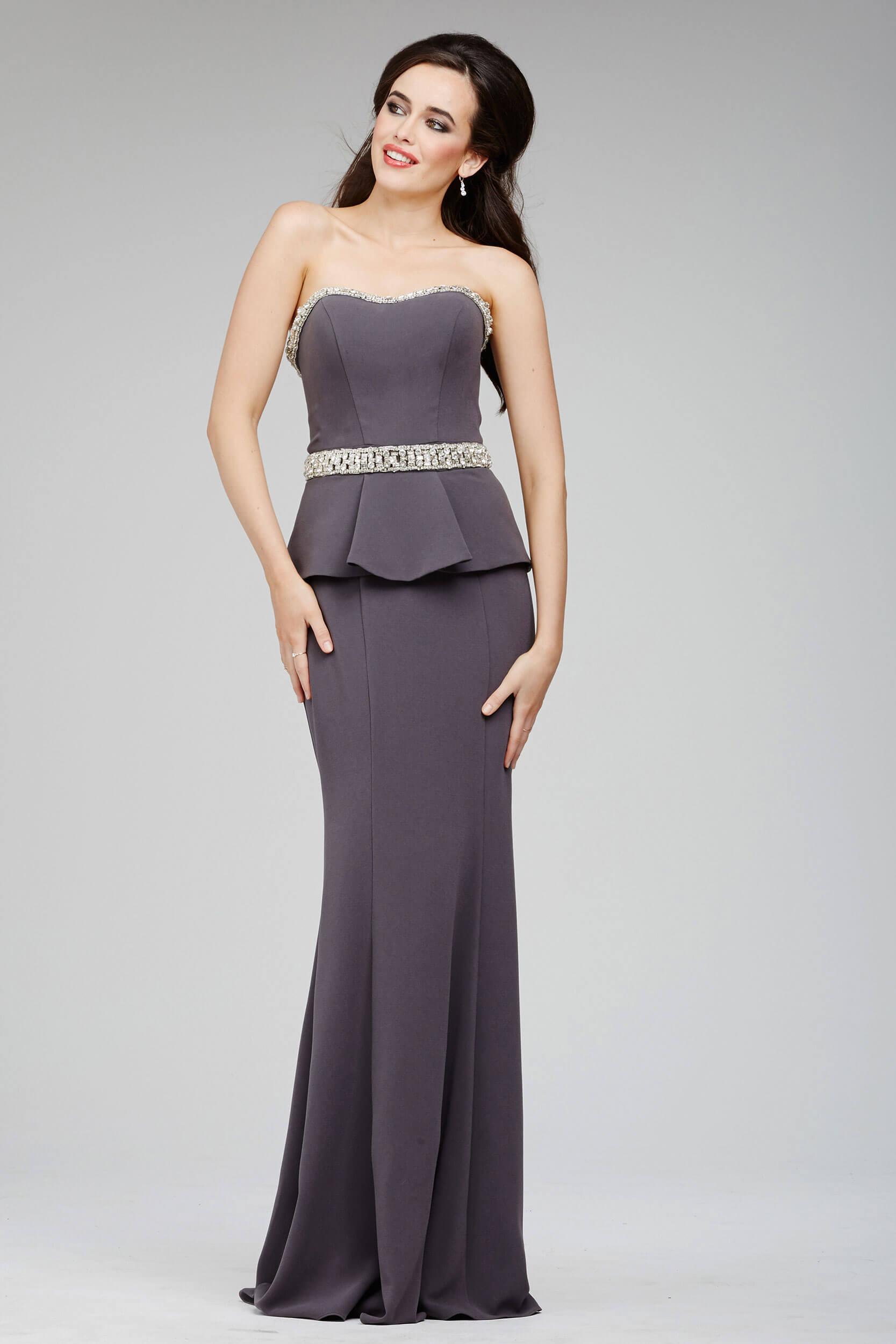 8dc5308d49d9 Dark Grey Semi Formal Dresses - raveitsafe