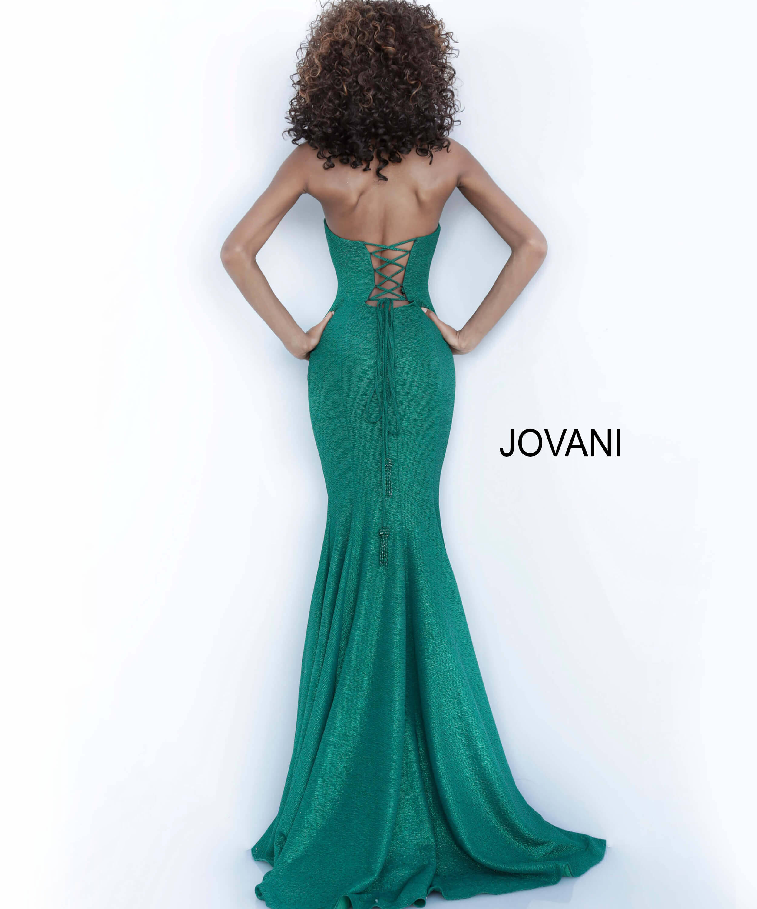 backless mermaid dress 8063 on mobile 0